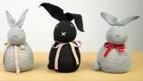Чудові зайці з шкарпеток своїми руками