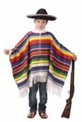 Робимо костюм мексиканця своїми руками: пончо, сомбреро
