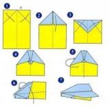 Самолёты из бумаги своими руками как делать 9