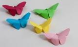Як зробити метелика орігамі з паперу: опис, покрокова інструкція виконання роботи і техніка згину паперу