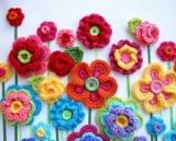 Схема простого квітки гачком: опис, особливості виконання, поради рукодільниць, фото
