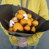 Як зробити букет з мандаринів своїми руками?