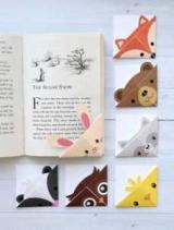 Закладка для книги орігамі-куточок – швидко і оригінально